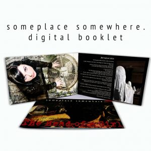 someplace somewhere digital booklet